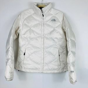 The North Face 550 Down Quilted Puffer Jacket Sz M